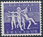 Belgium 1955 Surtax for Anti-tuberculosis Works d