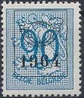 Belgium 1964 Heraldic Lion with Precancellations j