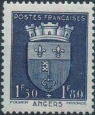 France 1942 Coat of Arms (Semi-Postal Stamps) f