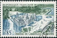 France 1969 Tourism - Chantilly Castle a