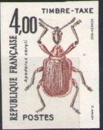 France 1982 Insects - Postage Due Stamps (1st Issue) l