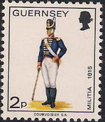Guernsey 1974 Military Uniforms Definitive Issue d
