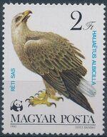 Hungary 1983 WWF - Birds of Prey d