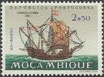 Mozambique 1963 Development of Sailing Ships h