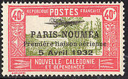 New Caledonia 1933 Definitives of 1928 Overprinted k