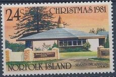 Norfolk Island 1981 Christmas (Churches) b