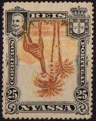 Nyassa Company 1901 D. Carlos I (Giraffe and Camels) s