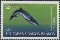 Turks and Caicos Islands 1983 Save Our Whales a