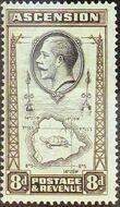 Ascension 1934 George V and Sights of Ascension g