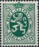 Belgium 1929 Arms - Heraldic Lion g