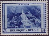 Belgium 1939 Restoration of Orval Abbey d