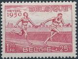 Belgium 1950 European Athletic Games d