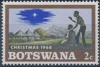 Botswana 1968 Christmas b