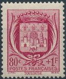 France 1941 Coat of Arms (Semi-Postal Stamps) e