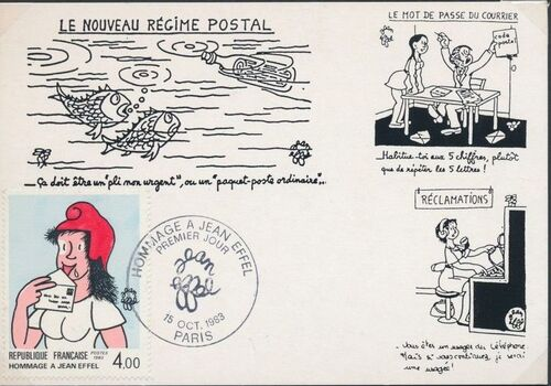 France 1983 75th Anniversary of the Birth of Jean Effel MCa