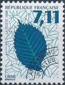 France 1996 Leaves - Precanceled d