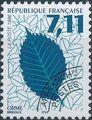 France 1996 Leaves - Precanceled d.jpg