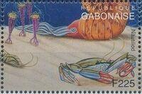 Gabon 1995 Prehistoric Wildlife w