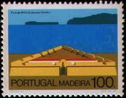 Madeira 1986 Forts in Funchal and Machico d