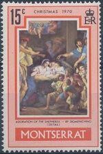 Montserrat 1970 Christmas b