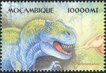 Mozambique 2002 Dinosaurs u