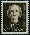 Netherlands 1949 Queen Juliana - En Face (1st Group) e