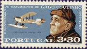 Portugal 1969 100th Anniversary of the birth of Admiral Gago Coutinho c