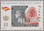 Spain 2000 150th Anniversary of First Spanish Stamp e
