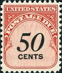 United States of America 1959 Numerals (Postage Due Stamps) o