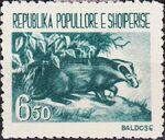 Albania 1961 Native Animals b