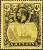 Ascension 1924 Seal of the Colony fb