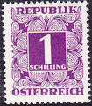 Austria 1949 Postage Due Stamps - Square frame with digit (1st Group) k.jpg