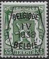 Belgium 1938 Coat of Arms - Precancel (4th Group) e.jpg