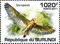 Burundi 2011 Owls of Burundi a