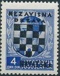 Croatia 1941 Peter II of Yugoslavia Overprinted in Black g