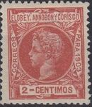 Elobey, Annobon and Corisco 1903 King Alfonso XIII d