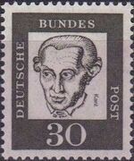 Germany, Federal Republic 1961 Famous Germans h