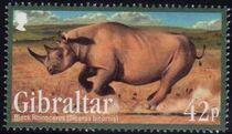 Gibraltar 2011 Endangered Animals a