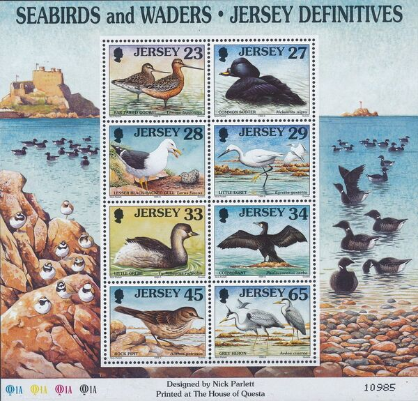 Jersey 1999 Seabirds and waders (4th Issue) j