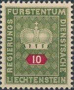 Liechtenstein 1950 Crown b