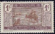 Mauritania 1913 Pictorials a