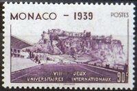 Monaco 1939 8th International University Games c
