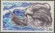 Monaco 1978 Birth Sesquicentennial of Jules Verne g