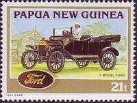 Papua New Guinea 1994 Classic Cars a
