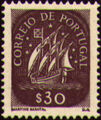 Portugal 1943 Portuguese Caravel (2nd Issue) c.jpg