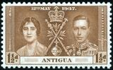 Antigua 1937 George VI Coronation b