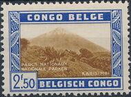 Belgian Congo 1938 International Congress of Tourism - National Parks e