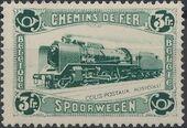 Belgium 1934 Modern Locomotive a