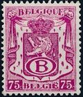 Belgium 1946 Coat of Arms - Official Stamps d