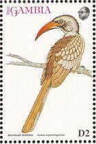 Gambia 1993 Birds of Africa c